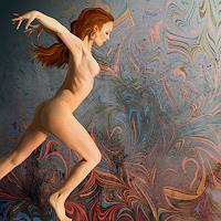 Van-Renselar-Erotic-motifs-Female-nudes-Movement-Contemporary-Art-Contemporary-Art