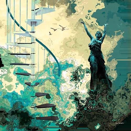 Van Renselar, Arpeggiana, Abstract art, Movement, Neo-Expressionism, Contemporary Art