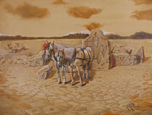 Ramaz Razmadze, Forsaken Carriage, Fantasy, Animals: Land, Post-Surrealism