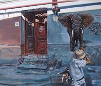 Ramaz-Razmadze-Fantasy-Animals-Land-Contemporary-Art-Post-Surrealism