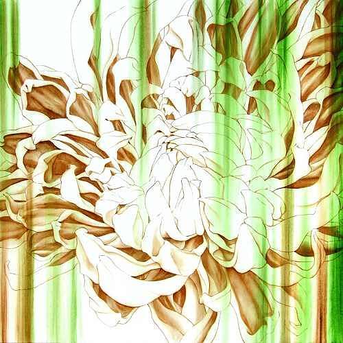 Alannala LAU, Fragrance Echo, Plants: Flowers, Modern Age, Expressionism