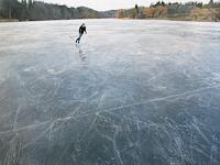 J. Walton, Skating on Blue Grey Ice