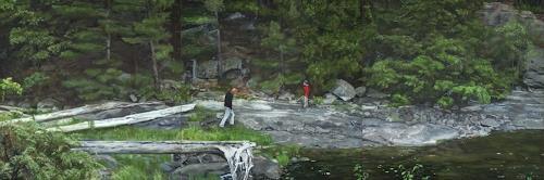 Jennifer Walton, Bay of lost things, Landscapes: Summer, Nature: Water, Realism