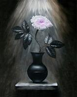 Vladimira-Knuesel-Still-life-Plants-Flowers-Modern-Times-Romanticism
