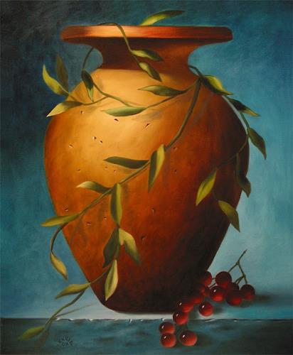 Vladimira Knüsel, Amphora, Still life, Nature: Earth, Land-Art