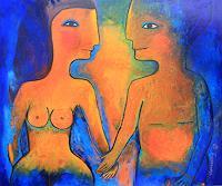 Helga-Hornung-Nude-Erotic-motifs-Emotions-Modern-Times-Romanticism