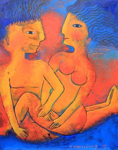 Helga Hornung, Exstase, People, Nude/Erotic motifs, Others