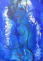 Helga-Hornung-Nude-Erotic-motifs-Fantasy-Contemporary-Art-Contemporary-Art