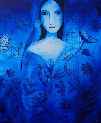 Helga Hornung, Schönheit, Fantasy, Mythology, Contemporary Art