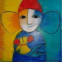 Helga-Hornung-Fantasy-People-Contemporary-Art-Contemporary-Art