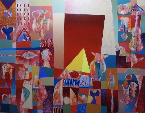 Georgi Demirev, Confusion, Carnival, Fantasy, Contemporary Art