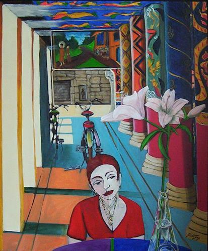 Erik Slutsky, Hope, People: Women, Religion, Neo-Expressionism, Expressionism