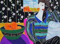 Erik-Slutsky-People-Women-Fashion-Contemporary-Art-New-Image-Painting