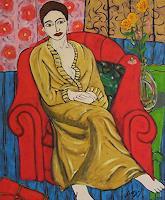 Erik-Slutsky-People-Women-Leisure-Contemporary-Art-New-Image-Painting