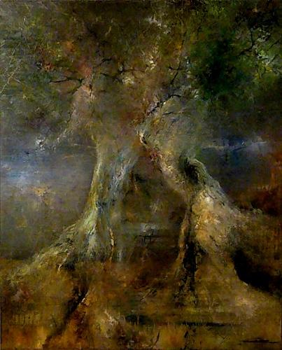 Juan Miguel Giralt, Dreamt Forest, Nature: Miscellaneous, Miscellaneous Landscapes, Neo-Expressionism, Expressionism