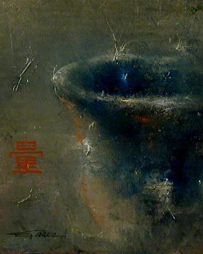 Juan Miguel Giralt, Essential Jar, Still life, Symbol, Neo-Expressionism, Abstract Expressionism