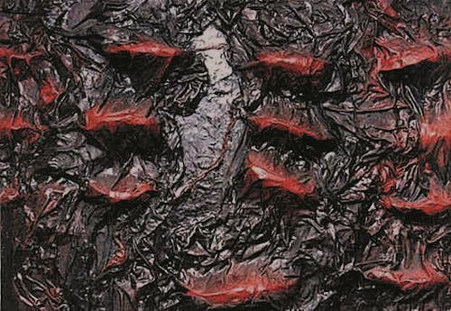 Lino Budano, virus, Abstract art, Abstract Art, Abstract Expressionism