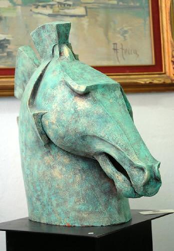 Dambros Ferrari, Horse, Animals: Land, Animals: Land, Postmodernism