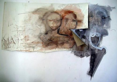 emilio merlina, welcome home, Fantasy, Abstract Expressionism