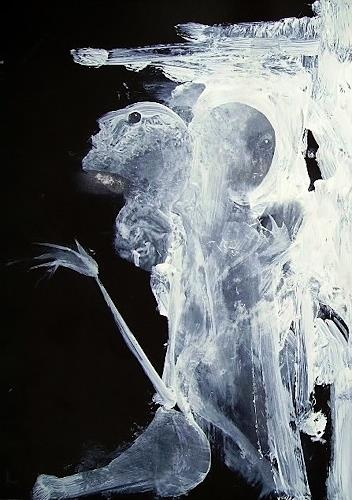 emilio merlina, moonbeams, Fantasy, Abstract Expressionism