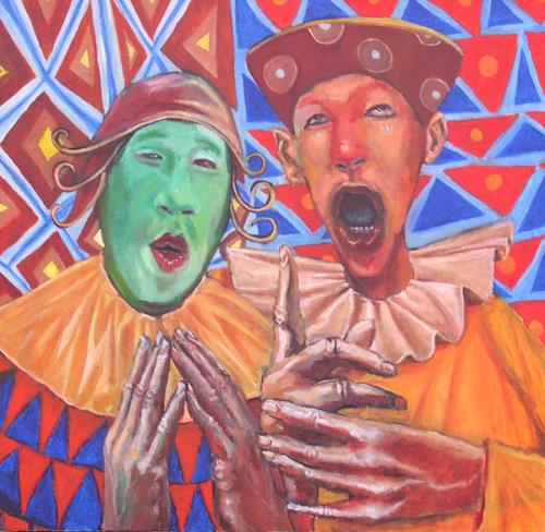 jonathan franklin, Pitch Perfect, Circus: Clowns, Carnival, Neo-Expressionism