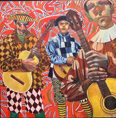 jonathan franklin, Showtime, Music: Musicians, Carnival, Neo-Expressionism