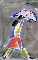 J. CHEVASSUS-AGNES, A RUNNING WOMAN at SHANGHAI
