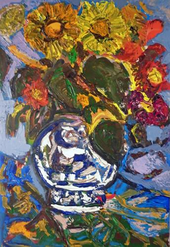 Jean-Pierre CHEVASSUS-AGNES, FLOWERS, Plants: Flowers, Plants: Flowers, Contemporary Art