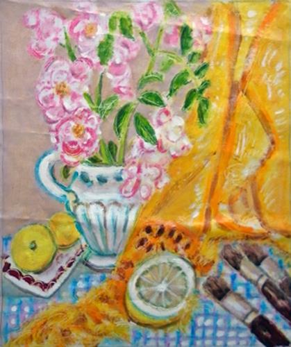 Jean-Pierre CHEVASSUS-AGNES, ROSES, Plants: Flowers, Plants: Fruits, Contemporary Art
