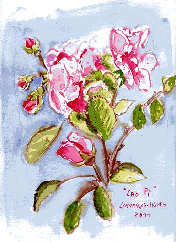 Jean-Pierre CHEVASSUS-AGNES, WINTER ROSES, Plants: Flowers, Symbol, Modern Times