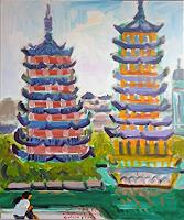 J. CHEVASSUS-AGNES, GUILIN OLD PAGODAS IN THE TOWN