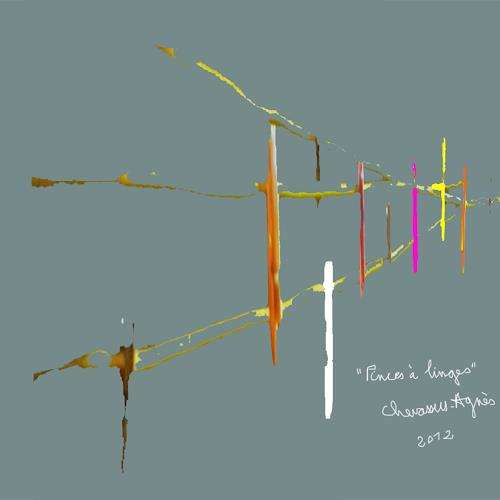 Jean-Pierre CHEVASSUS-AGNES, PINCES à LINGES, Decorative Art, Poetry, Contemporary Art, Abstract Expressionism