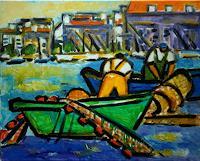 J. CHEVASSUS-AGNES, Pêcheurs à Sète France