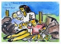 J. CHEVASSUS-AGNES, FEMME ET ENFANTS