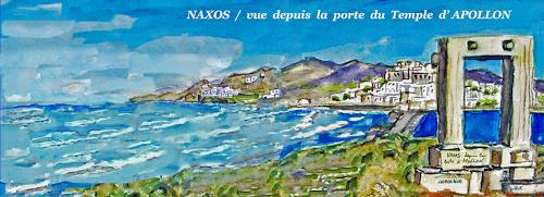 Jean-Pierre CHEVASSUS-AGNES, NAXOS CYCLADIC ISLAND IN GREECE, Architecture, Mythology, Realism
