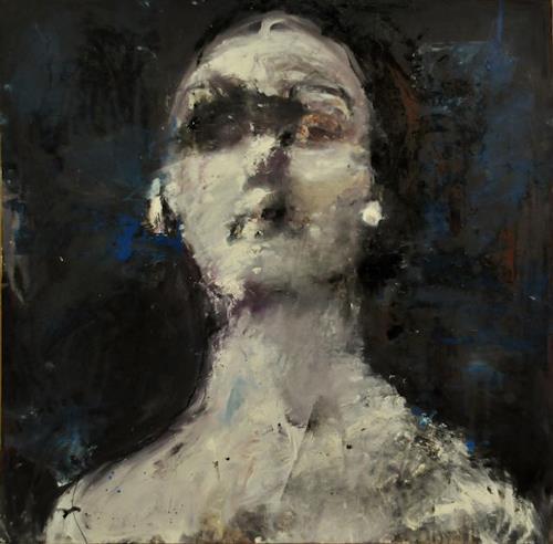 Katarzyna Gajewska, Isadora Duncan, People: Faces, Abstract Expressionism