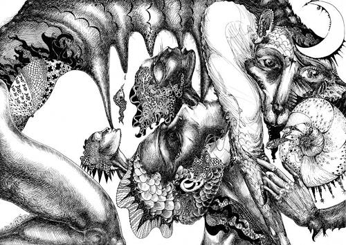 Galina Lukshina, Deja Vue, Symbol, Symbolism, Abstract Expressionism