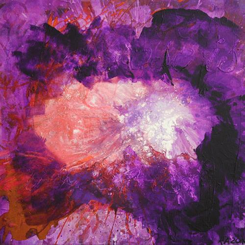 Raphaela C. Näger, a rose is a rose, Abstract art, Plants: Flowers, Abstract Art