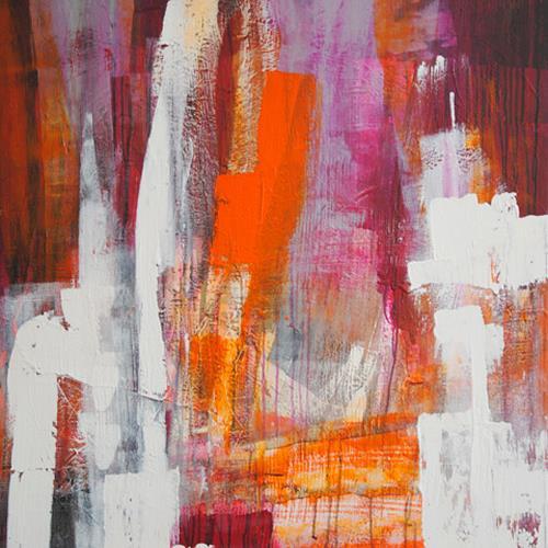 Raphaela C. Näger, dahinter, Abstract art, Abstract Art