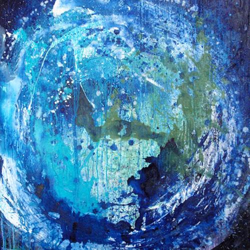 Raphaela C. Näger, blue planet, Abstract art, Nature: Water, Abstract Art