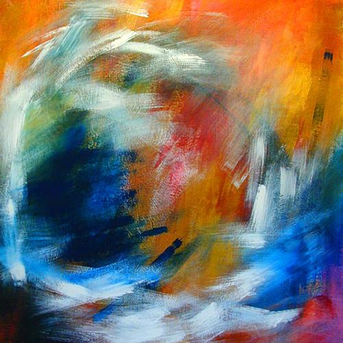 """Freiheit"" by Raphaela C. Näger, Abstract art, Emotions ..."