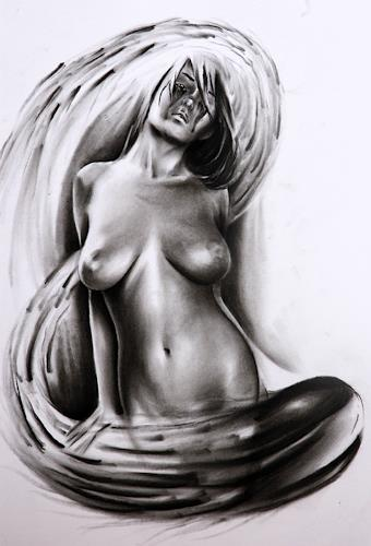 mihaly DUDAS, N/T, Erotic motifs: Female nudes, Miscellaneous, Contemporary Art