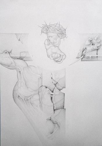Mirko Sevic, stillness-fetus, Religion, Post-Surrealism