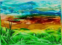 Evelin Koenig Art Landscapes: Plains Modern Age Naturalism