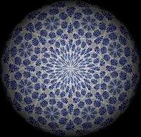 E. König, Blaues Blütenmeer