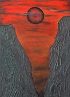 Evelin Koenig Art Landscapes: Mountains Modern Age Avant garde Surrealism