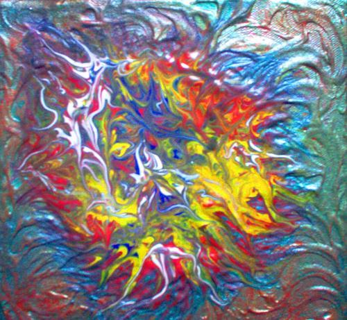 Evelin König, o.T., Abstract art