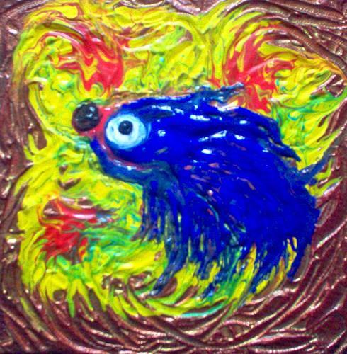 Evelin König, Tintenfisch, Decorative Art