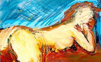Andrey-Bogoslowsky-Erotic-motifs-Female-nudes-Emotions-Joy-Contemporary-Art-Neo-Expressionism