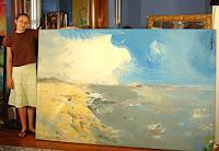 Andrey-Bogoslowsky-Landscapes-Sea-Ocean-Leisure-Modern-Age-Expressionism